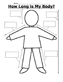 How Long Is My Body? - Measurement Activity