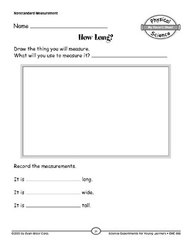 How Long? (Properties of Objects & Materials)