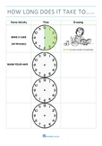 How Long does it Take - Time Activity