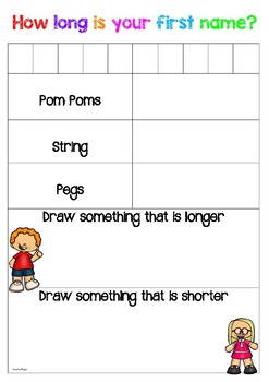 How Long is your First Name? Measurement activity