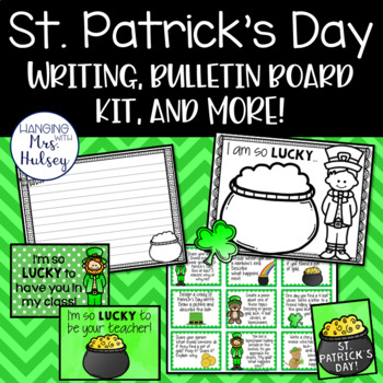 How Lucky We Are! (St. Patrick's Day Activities and Printables)