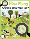 How Many Animals Can You Find? Visual Discrimination and Counting Skills