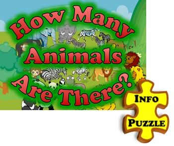 How Many Animals PUZZLE: English Communication Activities