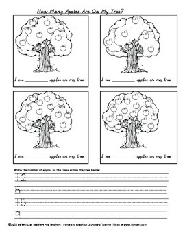 Numbers on Apple Trees (1-20)