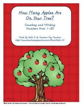 Numbers on Apple Trees (1-20)