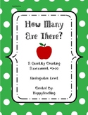 How Many Apples Are There? Kindergarten Counting Assessment