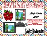 How Many Apples?-Digital Math Center (Google Classroom & D