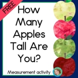 Apple Measurement with Non-standard units FREE