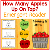 How Many Apples Up On Top? Back to School Emergent Reader