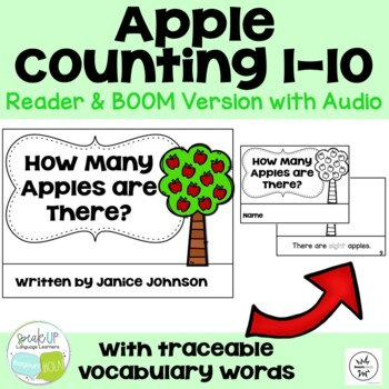 How Many Apples are There? Number/Counting Readers ~ for Young Readers