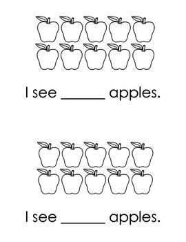 How Many Apples? - mini book