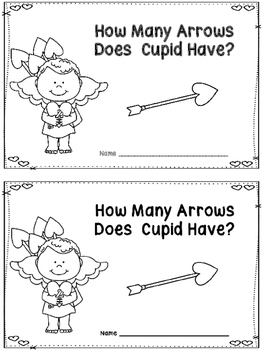 How Many Arrows Does Cupid Have?  -A Counting Book  Freebie