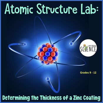 Atomic Structure: How Many Atoms Thick is a Zinc Coating?