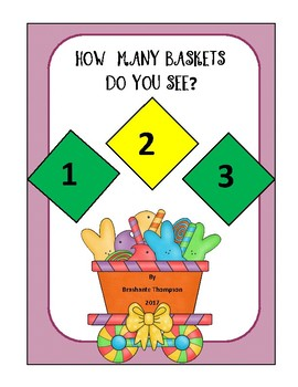 How Many Baskets Do You See? Emergent Reader