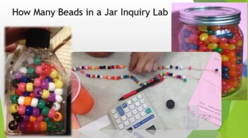 How Many Beads in a Jar Inquiry Lab set