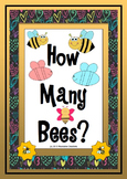 How Many Bees? - Math Counting Activities