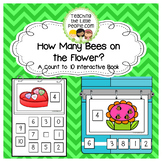 How Many Bees on the Flower: A Counting to 10 Interactive Book