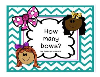 How Many Bows? Math Center