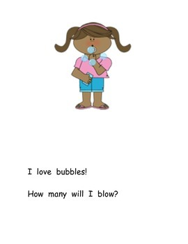 How Many Bubbles adapted book