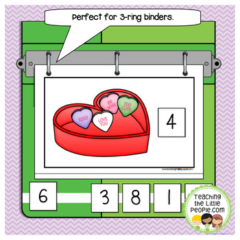 How Many Candy Hearts in the Box: A Counting to 10 Interactive Book