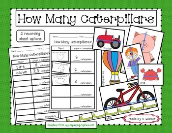 How Many Caterpillars? - A Measurement Activity/Station