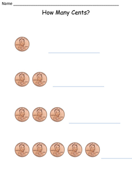 How Many Cents?  Coins