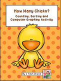 How Many Chicks?  Counting, Sorting, and Computer Graphing