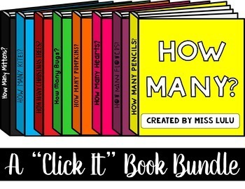 How Many? Click It Bundle {No Print} Distance Learning