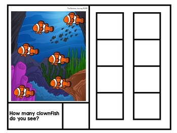 How Many Clownfish Do You See? - Counting Book (#1-8)