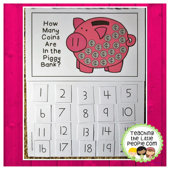 How Many Coins in the Piggy Bank: A Counting to 20 Interactive Book