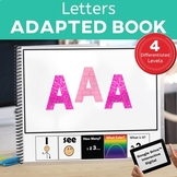 How Many? Color? What? Alphabet Book Special Education Autism