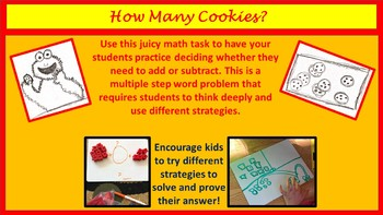 How Many Cookies? A Juicy Math Task