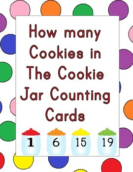 How Many Cookies in the Cookie Jar Counting Mats