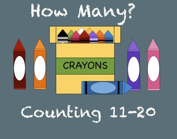 How Many? Counting Numbers 11-20 SMARTboard Activity