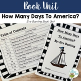 How Many Days To America? by: Eve Bunting Teaching Unit