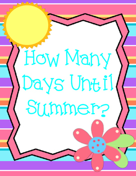 How Many Days Until Summer?  Countdown Display