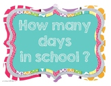 How Many Days in School? FREE