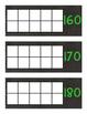 How Many Days in School Ten Frames: Chalkboard Brights