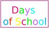 How Many Days of School