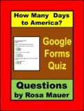 How Many Days to America A Thanksgiving Story Google Forms