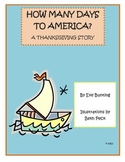 How Many Days to America? A Thanksgiving Story by Eve Bunting