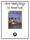 How Many Days to America? Comprehension Packet