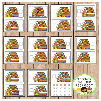 How Many Decorations on the Gingerbread House: A Counting to 20 Interactive Book