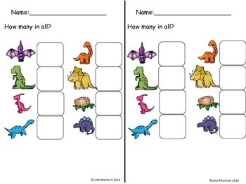 How Many Dinosaurs? A QR Code Activity