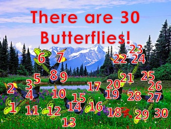 How Many Do You See 5 PowerPoint Games (26 - 30 Numbers)