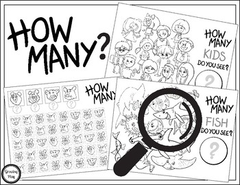 How Many Do You See - Counting and Visual Perceptual Activities