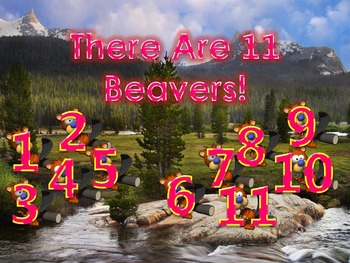 How Many Do You See 5 PowerPoint Games (11 - 15 Numbers)