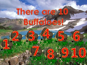 How Many Do You See 5 PowerPoint Games (6 - 10 Numbers)