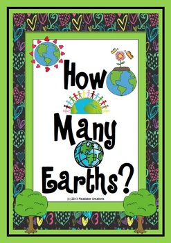 How Many Earths? - Math Counting Activities