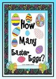 How Many Easter Eggs? - Math Counting Activities
